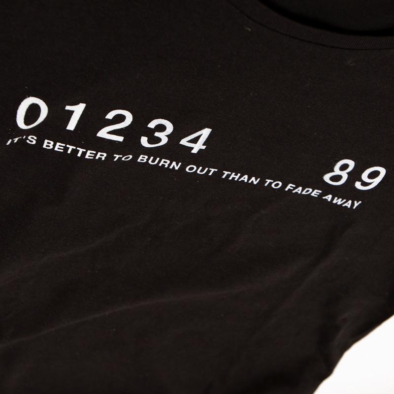OVERCOME 567 T-shirts ブラック