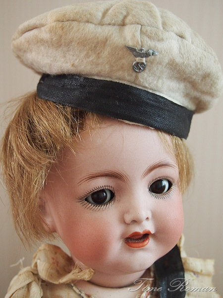 German bisque Flirty-Eyed Character Doll #126 by Kammer and Reinhardt
