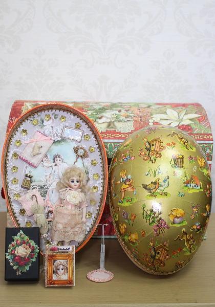三橋 昌子作 / レプリカドール BRU JUN & S&H Egg Box
