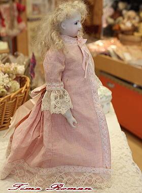 アンティークドール -Unknown Maker Fashion Doll-