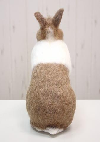 棚からうさもち /大きな羊毛うさぎ(ダッチカラー)�