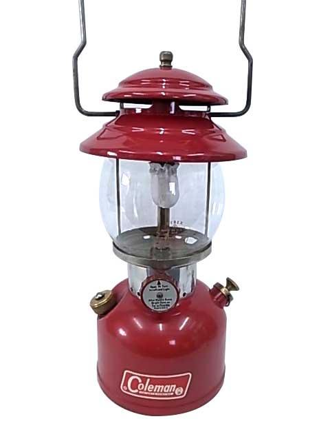 1966年2月製造 Coleman コールマン ヴィンテージ ランタン The Red Model 200A 【Antique アンティーク】【中古】