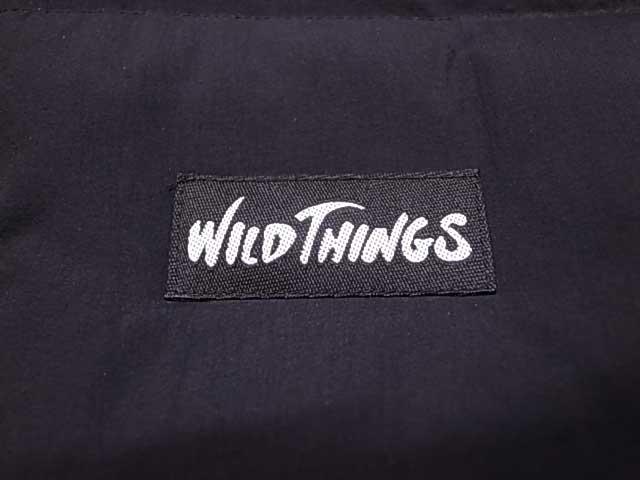 ★SALE 40%OFF★ WILD THINGS ワイルドシングス SNUG DOWN COAT スナッグ ダウン コート  BLACK ブラック
