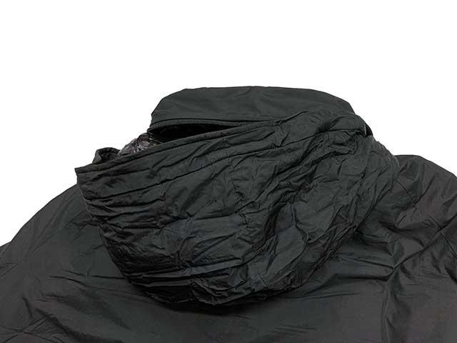 WILD THINGS ワイルドシングス MONSTER PARKA モンスターパーカー PRIMA LOFT  プリマロフト PCU LEVEL 7 BLACK ブラック WILDTHINGS 2020年モデル