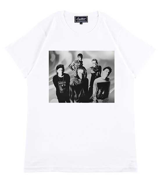 """【予約販売 4月中旬発送予定】Amplifier アンプリファイア """"M-AGE"""" TEE design A Tシャツ 2色(White/Black)エムエイジ 30th 30周年"""