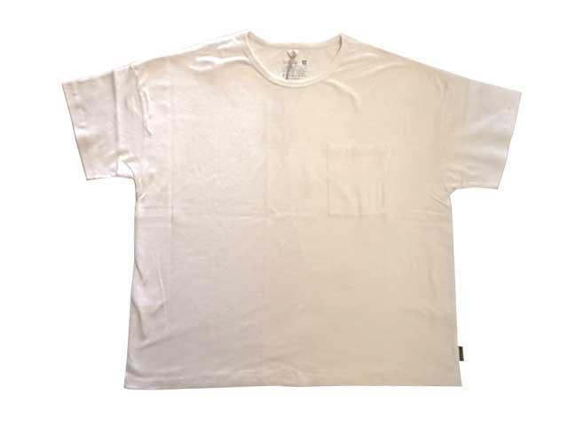 GOHEMP ゴーヘンプ WIDE POCKET TEE ワイド ポケット Tシャツ 半袖 オーガニックコットン ヘンプ go hemp 2019モデル
