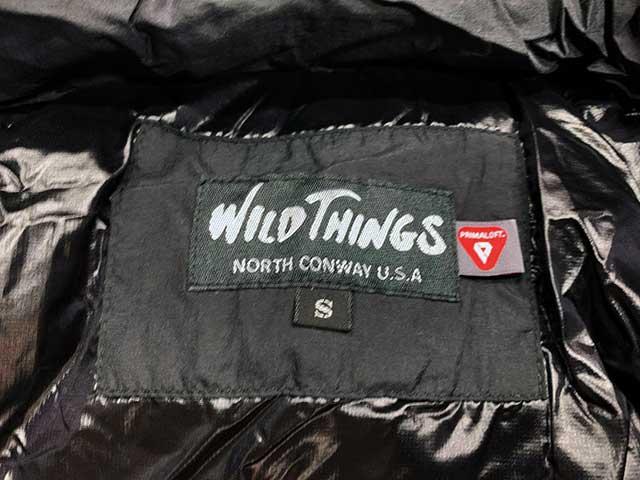 WILD THINGS ワイルドシングス HAPPY JACKET ハッピージャケット PRIMA LOFT  プリマロフト BLACK ブラック WILDTHINGS 2020年モデル