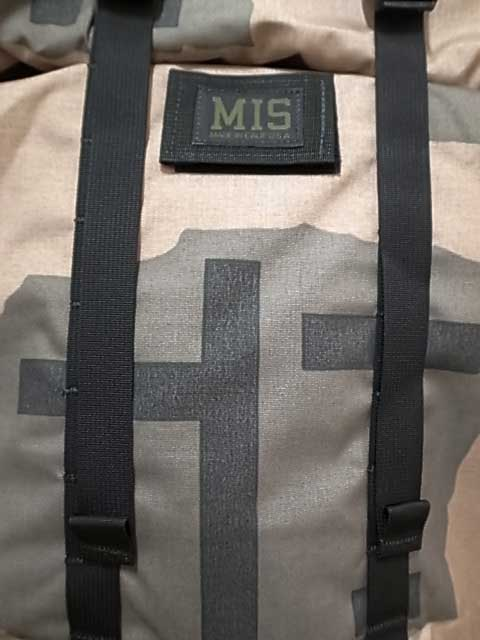 MIS エムアイエス ROLL UP BACKPACK BLOCK CAMO ブロックカモ ロールアップ バックパック MADE IN CALIF USA