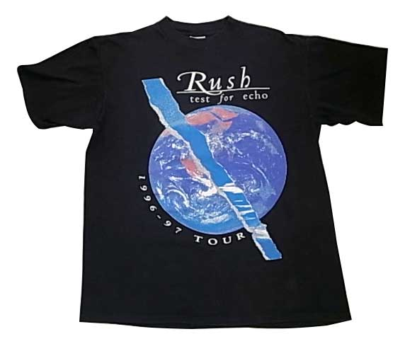 90's Rush ラッシュ 1996-97 ツアー Tシャツ BLACK size:XL Made in USA アメリカ製 【USED ユーズド】【中古】