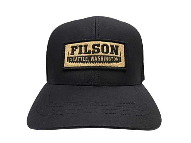 FILSON フィルソン #57135 LOGGER NESH CAP ロガー メッシュ キャップ BLACK ブラック