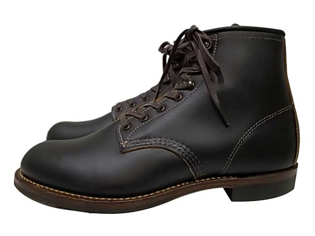 "RED WING レッドウィング ブーツ 9060 BECKMAN BOOTS ""FLAT BOX"" Black ""Klondike"" ベックマン ブーツ ブラック REDWING"
