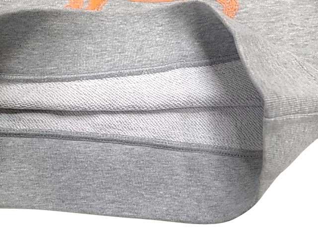 PORKCHOP ポークチョップ PORK FRONT SWEAT for Kids P-20 子供用 ポーク フロント スウェット 長袖 トレーナー 2色(GRAY/IVORY)