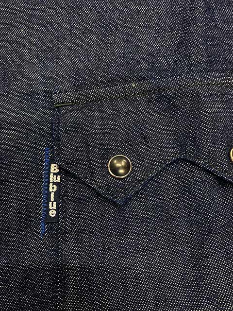 BLUE BLUE ブルーブルー ブラックパール ドレス ウエスタンシャツ
