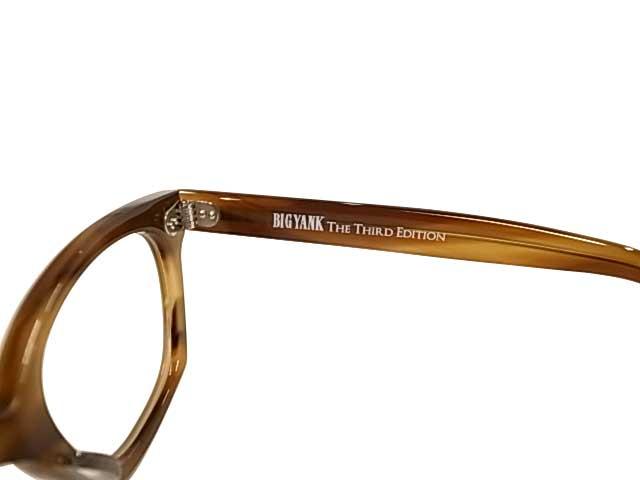 BIG YANK ビッグヤンク SAFETY GLASSES 眼鏡 メガネ 2色(BLACK/BROWN)日本製 MADE IN JAPAN