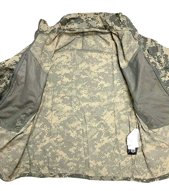 【DEAD STOCK】 米軍 ECWCS GEN3 LEVEL4 ACU WIND COLD WEATHER JACKET デジタルカモ 迷彩 size:MEDIUM-REGULAR U.S. ARMY Issue
