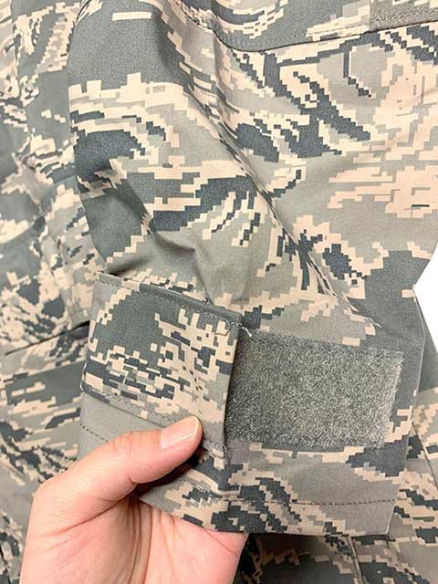 【DEAD STOCK】 米軍 US AIR FORCE APECS ABU ゴアテックスパーカ デジタルタイガーカモ 迷彩 size:MEDIUM-REGULAR