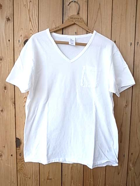 〈TAC original〉STYLE & RESPECT  スタイル&リスペクト S/S V neck  tee pocket Vネック ポケット Tシャツ  Made in USA 半袖 アメリカ製