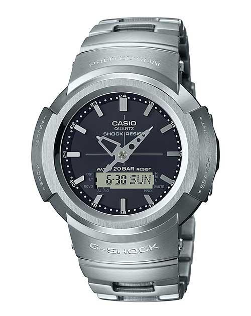 CASIO カシオ G-SHOCK ジーショック BASIC AWM-500 メタル シルバー 腕時計