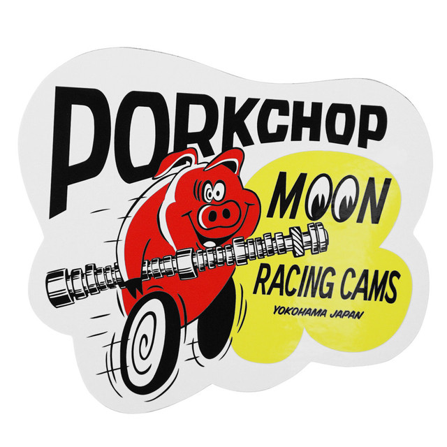 PORKCHOP ポークチョップ PORK MOON CAMS STICKER ポーク ムーン ステッカー