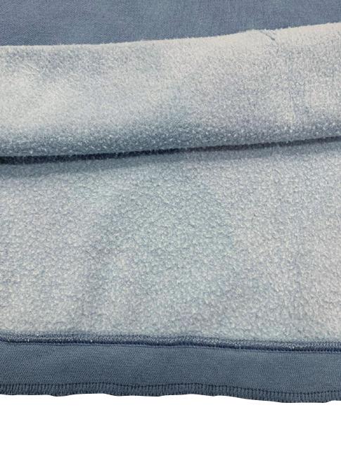 Kha:ki カーキ PIGMENT REMAKE P/O HOODIE ピグメント リメイク プルオーバー フーディ VINTAGE BLUE ビンテージブルー ワイドシルエット size.1