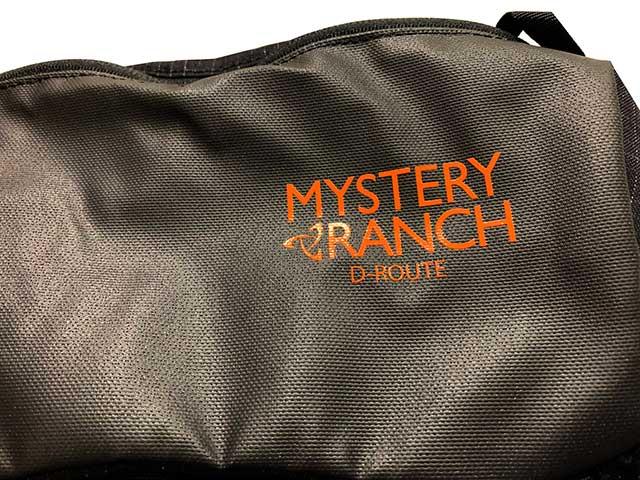 MYSTERY RANCH ミステリーランチ D-ROUTE Dルート バックパック BLACK ブラック リュック スキー スケートボード