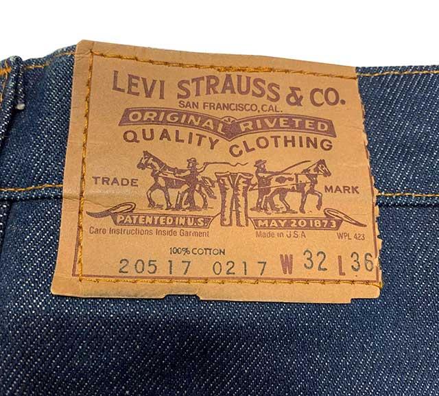 80's LEVI'S リーバイス 517 実寸W32 DEADSTOCK デッドストック【Vintage ヴィンテージ】【中古】
