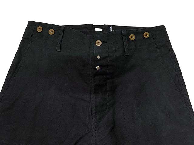 イタリア軍タイプ MOLESKIN PANTS モールスキン パンツ 2色(ナチュラル/ブラック) 【新品】