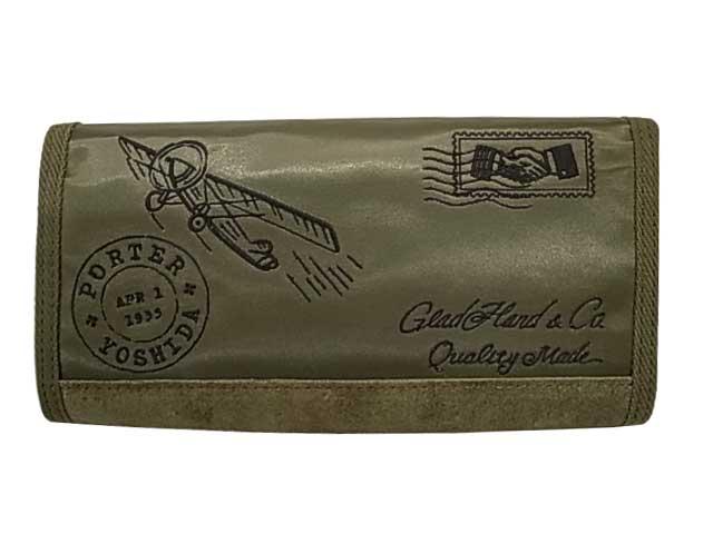PORTER ポーター × GLAD HAND グラッドハンド FADE LONG WALLET ウォレット 長財布 2色(BLACK/KHAKI)GLADHAND BY PORTER YOSHIDA & Co., LTD. 日本製