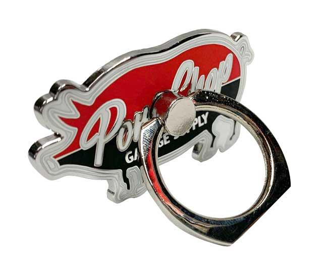 PORKCHOP GARAGE SUPPLY ポークチョップ ガレージサプライ P-Ring PORK バンカーリング スマホリング