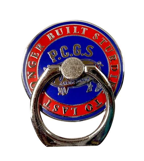 PORKCHOP GARAGE SUPPLY ポークチョップ ガレージサプライ P-Ring CIRCLE バンカーリング スマホリング