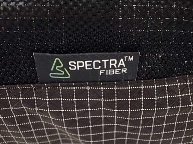 COMFY OUTDOOR GARMENT コムフィ アウトドア ガーメント SPECTRA UL BACKPACK スペクトラファイバー バックパック BLACK ブラック リュック デイパック