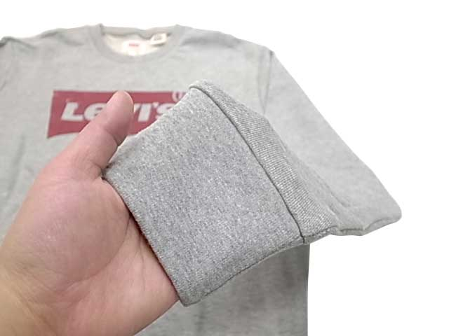 Levi's リーバイス バットウィングロゴ スウェット シャツ クルーネック