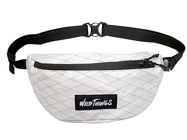 WILDTHINGS ワイルドシングス WAIST BAG ウエストバッグ X-PAC エックスパック 5色(BLACK/BEIGE/WHITE/GRAY/CAMO)