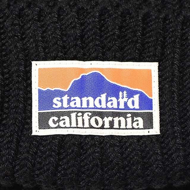 STANDARD CALIFORNIA スタンダードカリフォルニア SD Tech Dry Rib Watch Cap テック ドライ リブ ワッチ キャップ ニット帽 ビーニー 3色(BLACK/RED/GREEN)