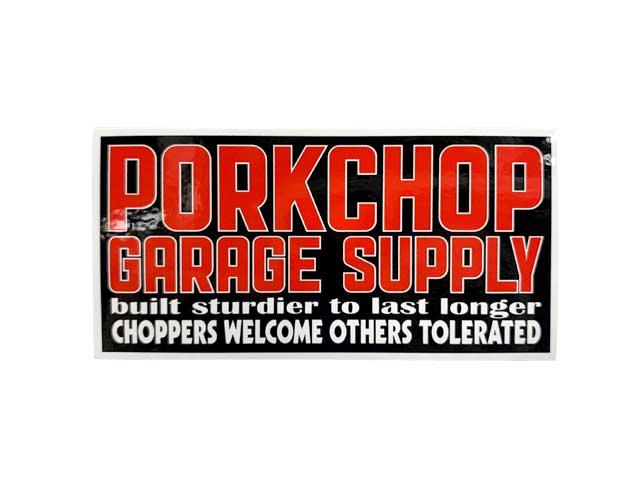 PORKCHOP GARAGE SUPPLY ポークチョップ ガレージサプライ SQUARE STICKER SET スクエア ステッカー セット 2枚入り シール