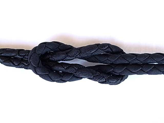 ★TAC別注★ MIGHTY MAC マイティマック LOOP KNOT BLESS  ブレスレット 590 ALL BLACK ブラック Made in Japan
