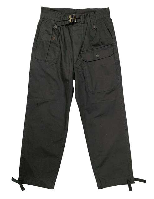 イギリス軍タイプ ジャングル トラウザー パンツ ミリタリーパンツ 2色(ODグリーン/ブラック) ミリタリー 【新品】