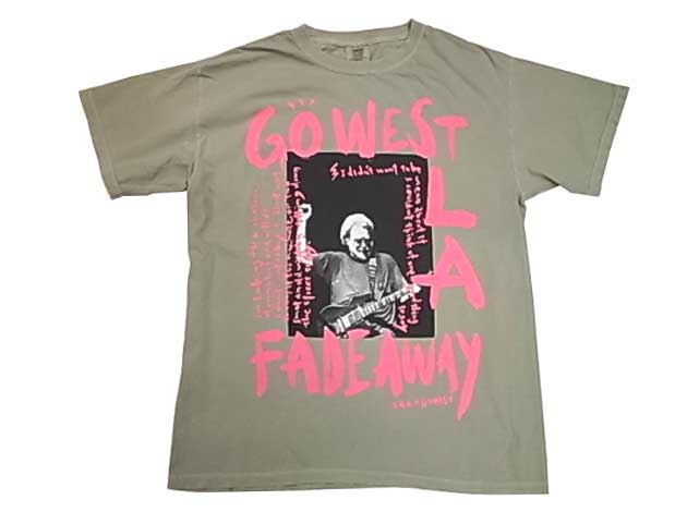 """TAC × GO WEST ゴーウエスト """"West L.A. Fadeaway""""T-shirts 別注 Tシャツ 半袖 GOWEST 3色(WHITE/SAND/BLUE GREEN)"""