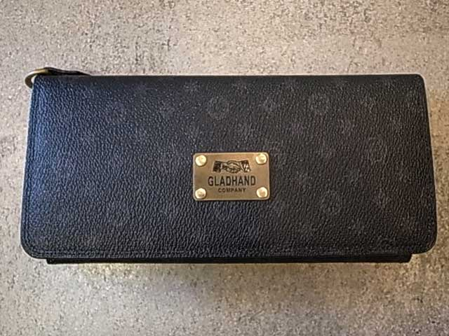 PORTER ポーター × GLAD HAND グラッドハンド BELONGINGS WALLET ウォレット FAMILY CREST 長財布 モノグラム monogram GLADHAND BY PORTER YOSHIDA & Co., LTD. 日本製