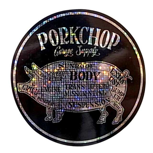 PORKCHOP ポークチョップ HOLOGRAM STICKER SET ホログラム ステッカー セット