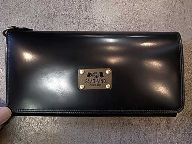 PORTER ポーター × GLAD HAND グラッドハンド BELONGINGS WALLET ウォレット BLACK ブラック 長財布 GLADHAND BY PORTER YOSHIDA & Co., LTD. 日本製
