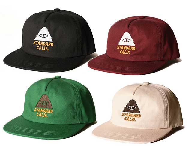 POLeR × Standard California ポーラー×スタンダードカリフォルニア Logo Twill Cap ロゴツイルキャップ 帽子
