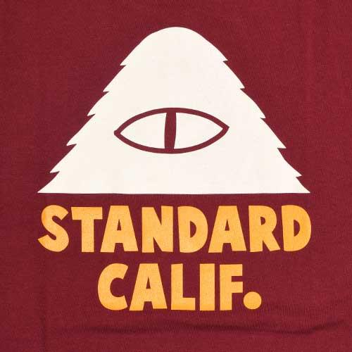 POLeR × STANDARD CALIFORNIA ポーラー×スタンダードカリフォルニア Logo T Tシャツ 半袖 4色(Black/White/Green/Burgundy)