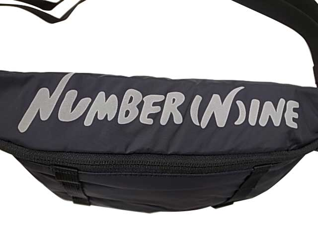 WILD THINGS ワイルドシングス × NUMBER (N)INE ナンバーナイン コラボモデル N(N) MOD BODY BAG ボディバッグ ウエストバッグ 2色(BLACK/WHITE)