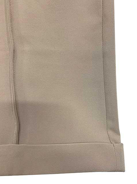 【SALE 20%OFF】kha:ki カーキ SIDE ZIP TRACK PANT サイド ジップ トラック パンツ GRAYGE グレージュ サイズ1