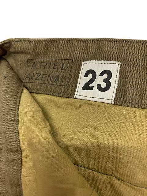 フランス軍タイプ M-47 ヘリンボーン カーゴパンツ フィールドパンツ 2色(OLIVE/BROWN) ミリタリー 【新品】