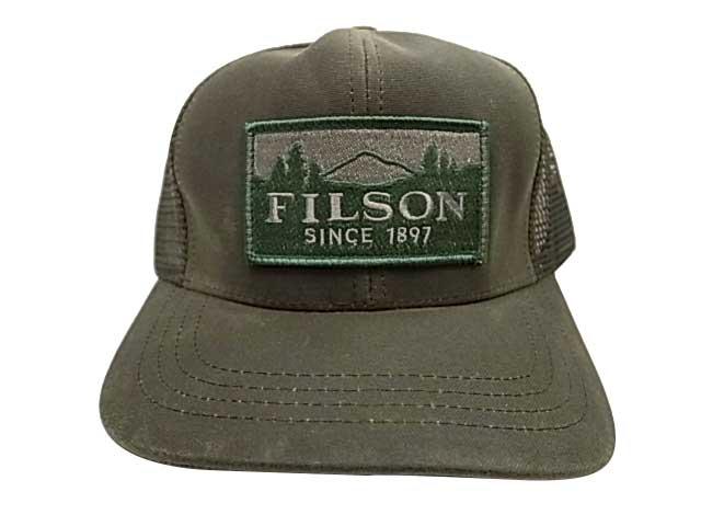 FILSON フィルソン LOGGER MESH CAP メッシュキャップ 4色(オリーブ/ブラック/オレンジ/タン)#30237
