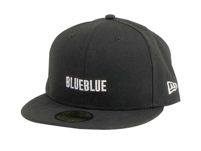 BLUE BLUE ブルーブルー × NEWERA HRM BASEBALL CAP キャップ BLACK ブラック