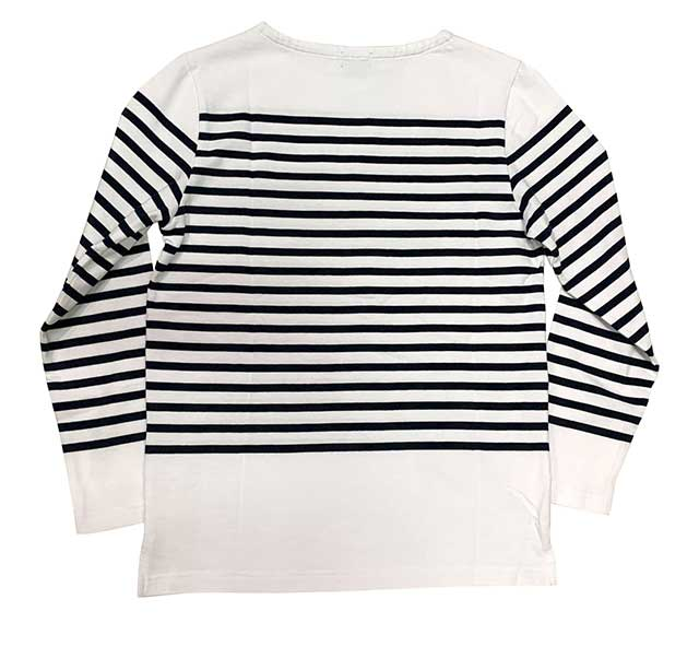 フランスタイプ 長袖 ボーダー Tシャツ ロンT 3色(ホワイト×ネイビー/ネイビー×ホワイト/ホワイト×ブルー)【新品】
