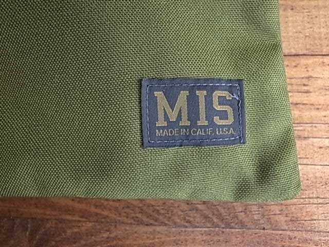 MIS エムアイエス TOOL POUCH ナイロン クラッチバッグMADE IN CALIF USA Lサイズ